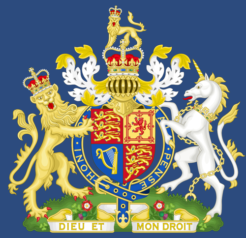 The United Kingdom's royal arms